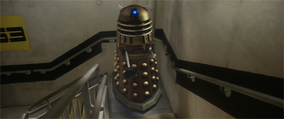 Stairs: the Daleks' other arch enemy!