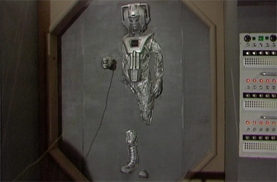 """I love you, Cyberman.""""I know."""