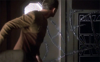 The writing's on the wall for Odo...