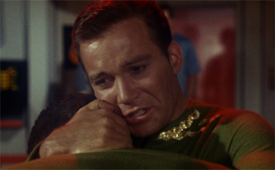 Kirk always was a bit in love with himself...