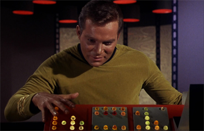Shatner dials it up...