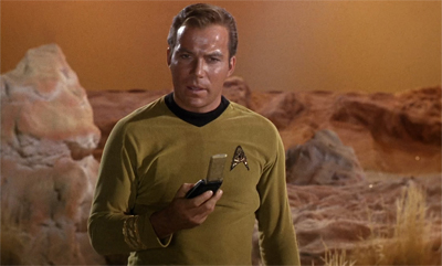Crater reacted so badly to their presence that Kirk had to flip him off...