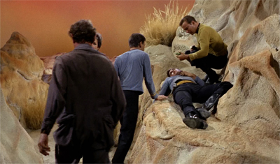 """Dammit, I specifically avoided bringing any redshirts along to avoid this!"""