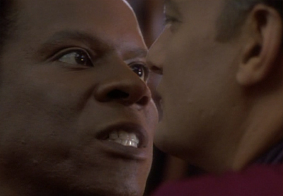 """""""I'm also not Kirk, Archer and I'm definitely not Janeway!"""""""