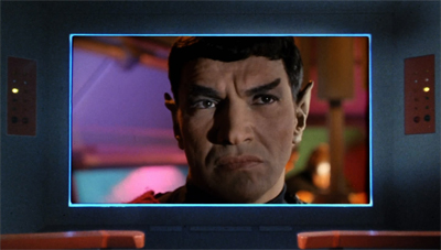 Who's your daddy, Spock?