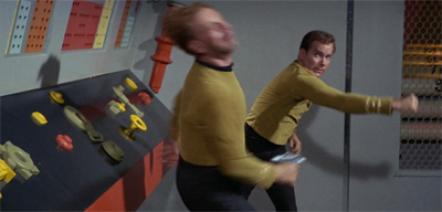 Because of course Kirk's court martial ends like this...