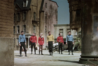 """We probably should have just beamed down the red-shirts first..."""