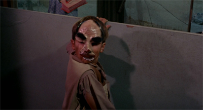 Because no episode is complete without a creepy child wearing a creepy face mask...
