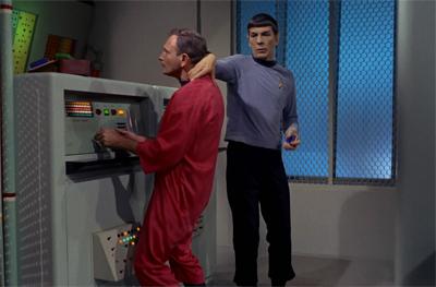 Spock strikes a nerve..