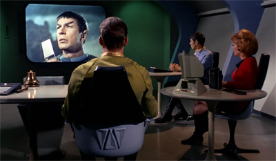 Spock's holiday slide show made for surprisingly compelling viewing...