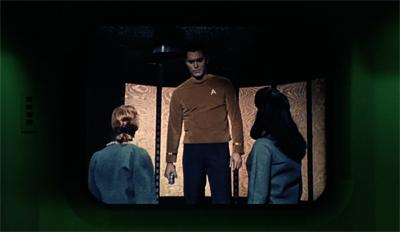 Watching Star Trek on Star Trek...