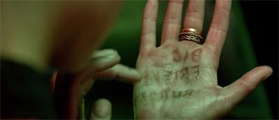 Hand writing...