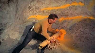James Kirk: fighting aliens through the power of applied chemistry!