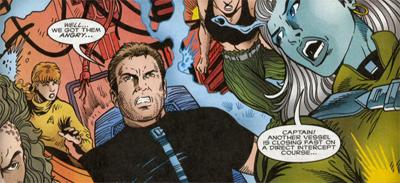 I do love Kirk's eighties tie!