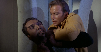 This is what happens when you try to upstage Shatner...