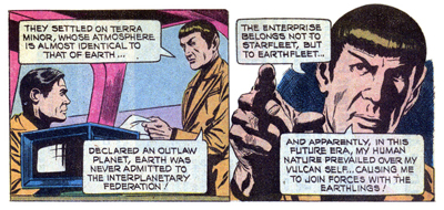 Spock lays some logic on us...