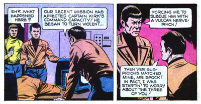 Looks like Spock struck a nerve...