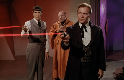 The phasers are the most inspired period touch...