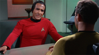 Kirk's initial ingenious plan to get rid of Khan was simply to invite him on the next away mission...