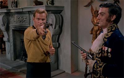 Gunning for Kirk...