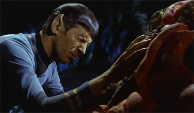 Spock would have to have a heart of stone not be affected by this...