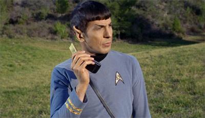 Spock finally flips...