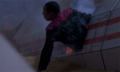 Sisko's attempts to impress the Kai crash and burn...