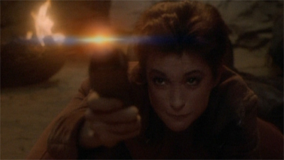 Kira's been through hell and it doesn't phaser...