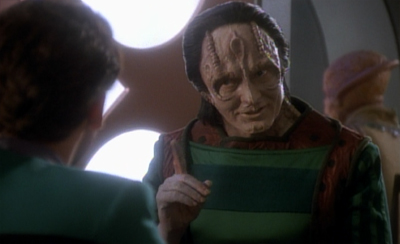 You weren't expecting details of Garak's past so soon, were you?