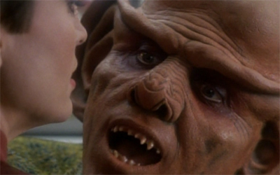 Quark gets an earful...