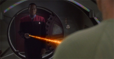 You do not mess with the Sisko...