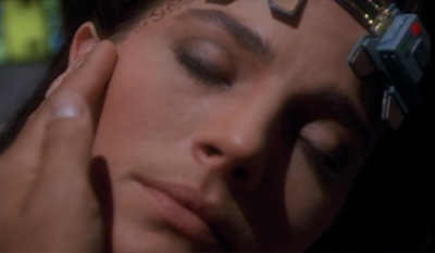 Well, at least Terry Farrell gets to a bit more here than she did in Dax...