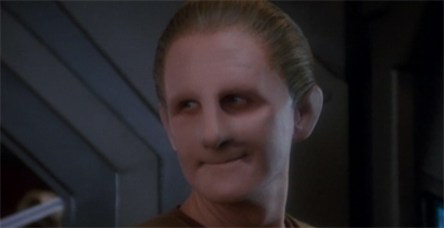 Odo won't get bent out of shape by Quark's death...