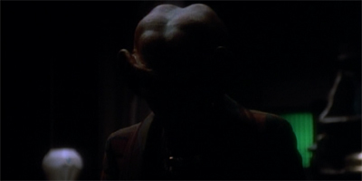 Quark's subplot is quite dark...