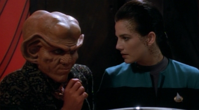Quark is looking for some sexual Trills...