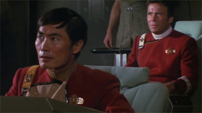Flying Sulu...
