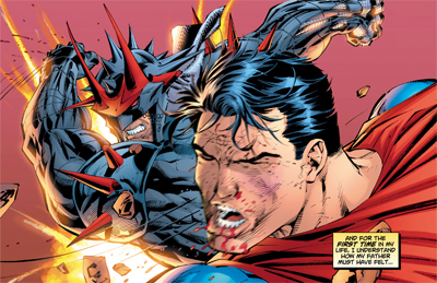 Superman gets the point...