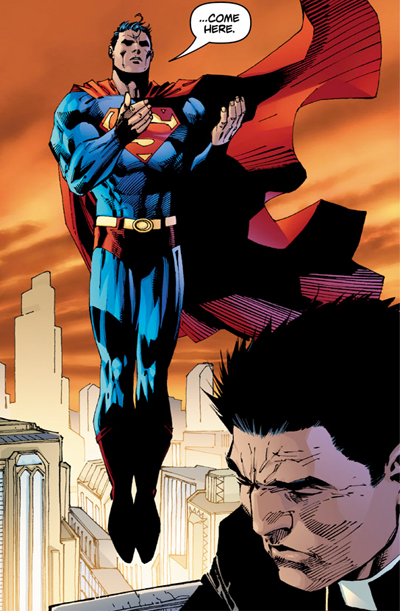 What's up with Superman, pray tell?