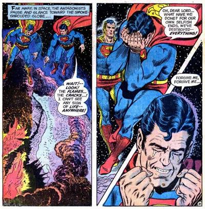 Tears of a Superman...