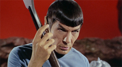 Spock remains as sharp as ever...
