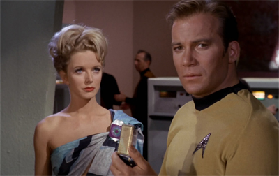 Kirk struggles to find a way to communicate his disdain...