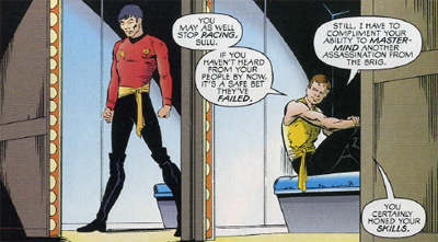 mirror!Kirk is in for crimes against fashion...