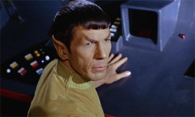 He is Spock.