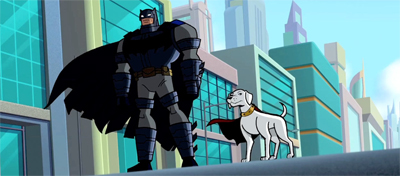 A Batman and his dog...