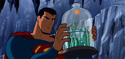Superman hasn't got the bottle...