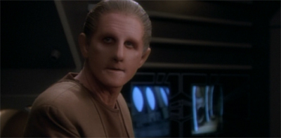 Odo's never bent out of shape...