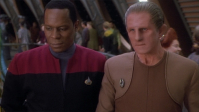 Odo's priorities shift...