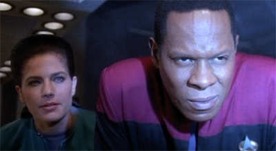 Lighten up there, Sisko...