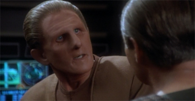 Odo's having trouble holding it all together...