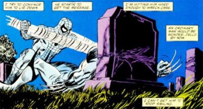 Sealing his tomb...